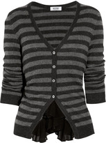 Moschino Cheap and Chic Striped knitted cardigan