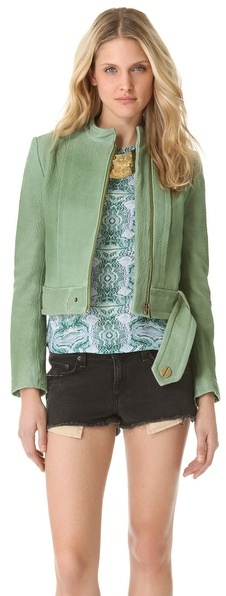 Kelly Wearstler Jasper Leather Jacket