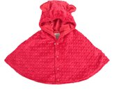 MyBlankee My Blankee Minky Dot Hooded Cape for Baby
