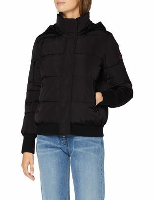Armani Exchange Women's 3 Zip Pocket Coat Bomber Jacket