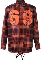 Vivienne Westwood Man '69' plaid shirt