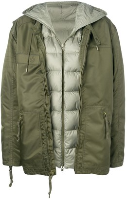 Mr & Mrs Italy Down Layered Parka