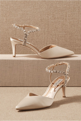 Badgley Mischka Bonnet Heels