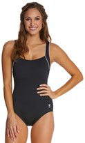 TYR Solid Square Neck Controlfit One PIece Swimsuit 20949