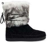 Toms x Prabal Gurung Black Suede Contrast Women's PG Nepal Boots