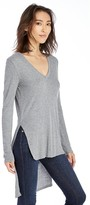 Sole Society V Neck Hi Lo Tunic