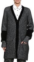 Piazza Sempione Mohair-Blend Cardigan Coat