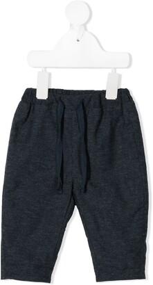 Knot Drawstring Slim Shorts