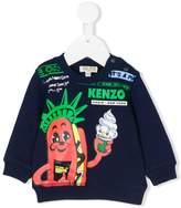 Kenzo novelty sweater
