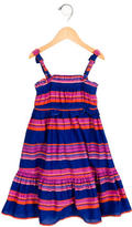 Little Marc Jacobs Girls' Striped Gathered Dress