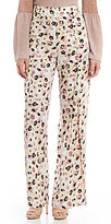 Gianni Bini Nicole Button Front Fly Away Pants
