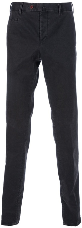 Pt01 tailored slim fit trousers