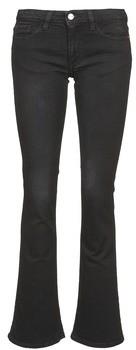 Acquaverde SIENNA women's Bootcut Jeans in Black