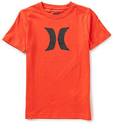 Hurley Big Boys 8-20 Icon Short-Sleeve Tee