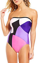 Kate Spade Limelight Bandeau One-Piece