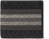 Bottega Veneta - Stitched Intrecciato Leather Billfold Wallet