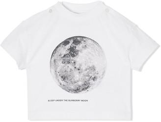 BURBERRY KIDS Moon print T-shirt