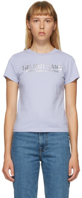 Helmut Lang Blue Baby T-Shirt
