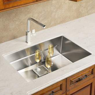 "Franke Peak 29"" L x 18"" W Undermount Kitchen Sink"