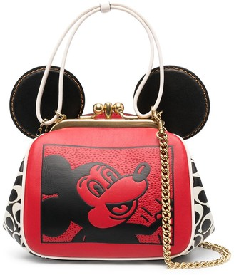 Coach x Disney Mickey Mouse x Keith Haring kisslock bag