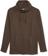 American Rag Men's Raw-Edge Funnel-Neck Sweatshirt, Only at Macy's