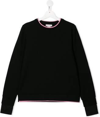 Stella McCartney logo print knitted jumper