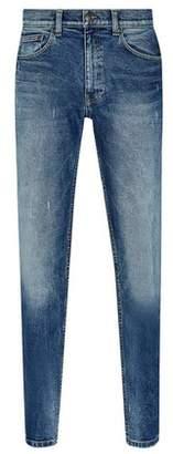 Dorothy Perkins Womens **Burton Light Wash Vintage Blake Slim Fit Jeans