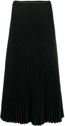 Prada High-Waisted Pleated Skirt