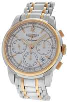 Longines Saint-Imier L2.752.5.72.7 Stainless Steel & 18K Rose Gold Plated 41mm Mens Watch