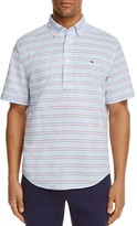 Vineyard Vines Steel Point Stripe Slim Fit Popover Shirt