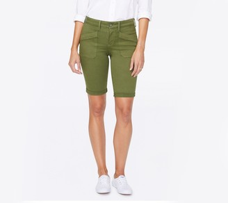 "NYDJ 11"" Shorts with Slanted Utility Pockets"