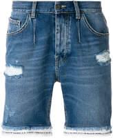 Frankie Morello distressed denim shorts