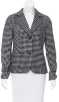 Bogner Wool Houndstooth Jacket w/ Tags