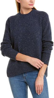 Vince Asymmetrical Wool-Blend Sweater