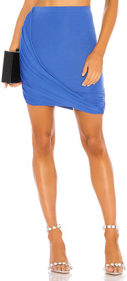 superdown Jules Drape Mini Skirt
