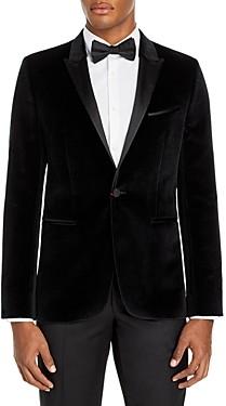 HUGO BOSS Astiane Velvet Slim Fit Tuxedo Jacket