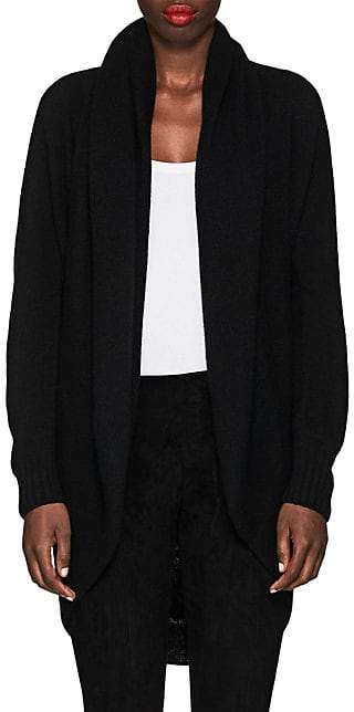 The Row Women's Caro Cashmere-Silk Cocoon Cardigan - Black