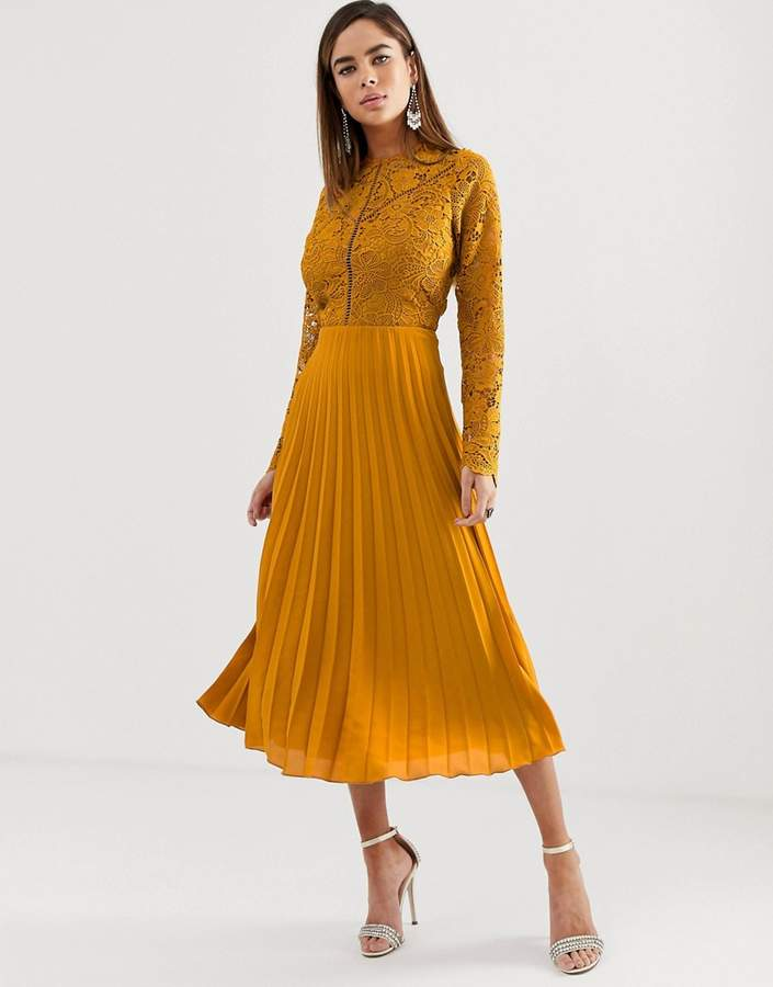 fa25448be63 Asos Pleated Skirt Dresses - ShopStyle