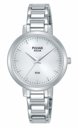 Pulsar Women's Analogue Quartz Watch with Stainless Steel Strap PY5069X1