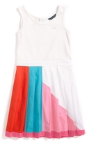 Tommy Hilfiger Final Sale- Rainbow Pleated Dress