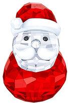 Swarovski Crystal Rocking Santa Figurine