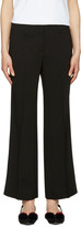 Emilio Pucci Black Wide-Leg Trousers
