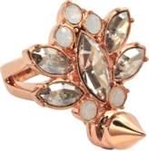 Mawi Crystal Cluster Spike earrings