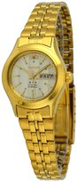 Orient FNQ0400FC Women's Stainless Steel Gold Tone 3 Star Gold Dial Automatic Watch