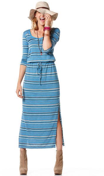 C&C California Long sleeve maxi dress