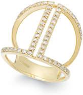 Effy Geo by Diamond Ring in 14K Gold (5/8 ct. t.w.)