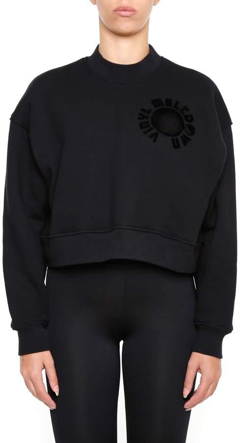 Alexander Wang Oversized Cropped Sweatshirt