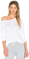 Sundry Weekend Crop Pullover in White. - size 3 / L (also in )