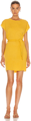 Raquel Allegra Vija Dress in Yellow | FWRD