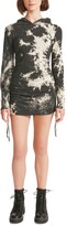 Thumbnail for your product : Madden Girl Juniors' Tie-Dyed Hoodie Dress